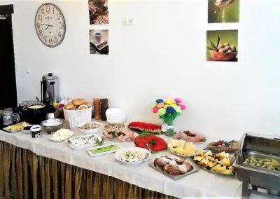 Śniadanie – bufet