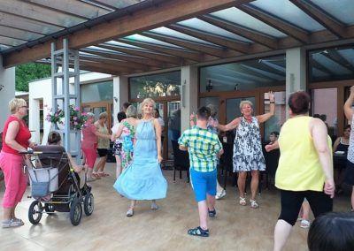 Tańce na tarasie