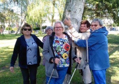 Nordic walking idrzewoterapia